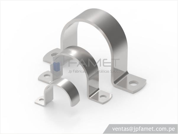 Abrazaderas para tuber as jp fabricaciones met licas s a c - Abrazaderas para tubos ...